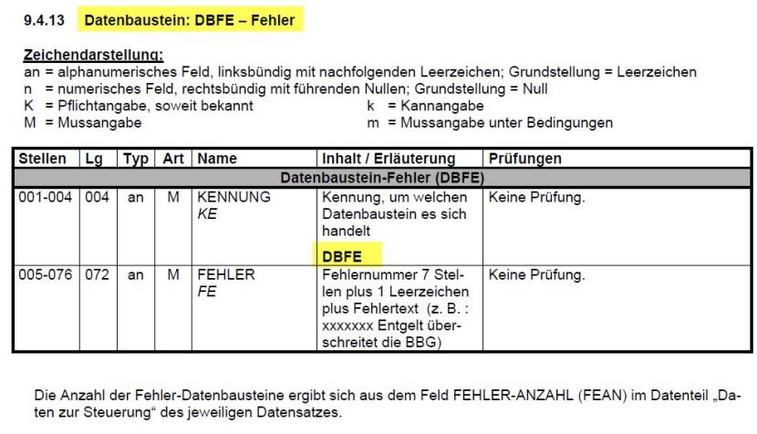 DBFE_Datenbausteinfehler_Krankenkassenmeldung