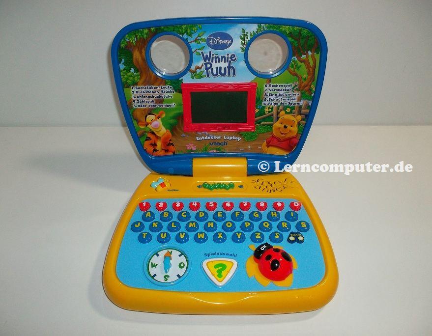 VTech Winnie Puuh Entdecker Laptop
