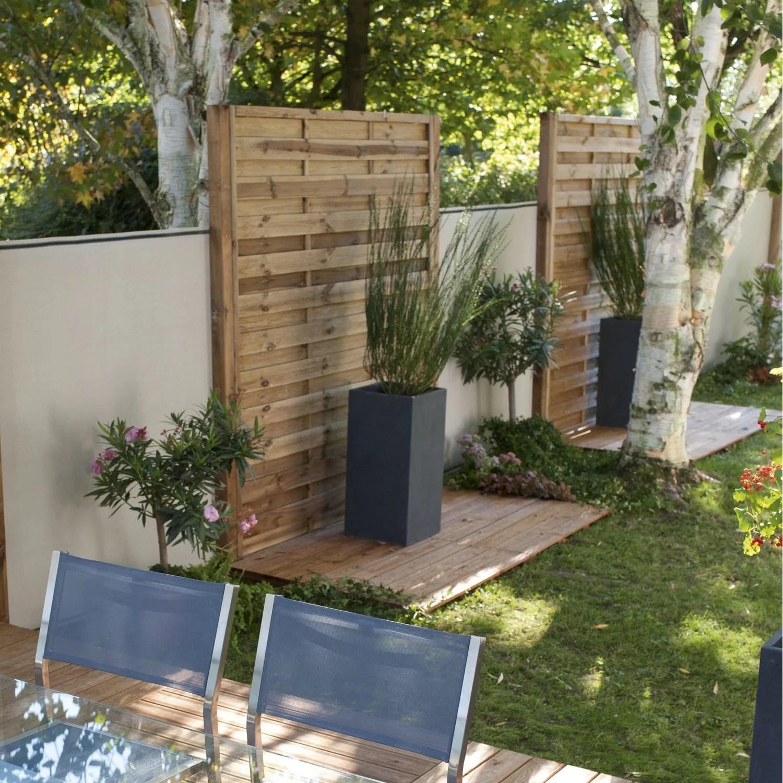 brise vue castorama bois interesting attrayant brise vue avec jardiniere porte intrieure. Black Bedroom Furniture Sets. Home Design Ideas