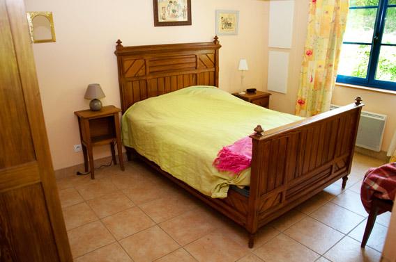 lit gîte les bruyères carré moyaux calvados normandie