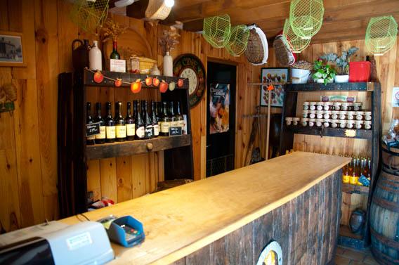 intérieur boutique les bruyères carré moyaux calvados normandie