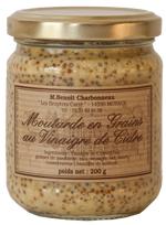 moutarde vinaigre de cidre bruyères carré normandie