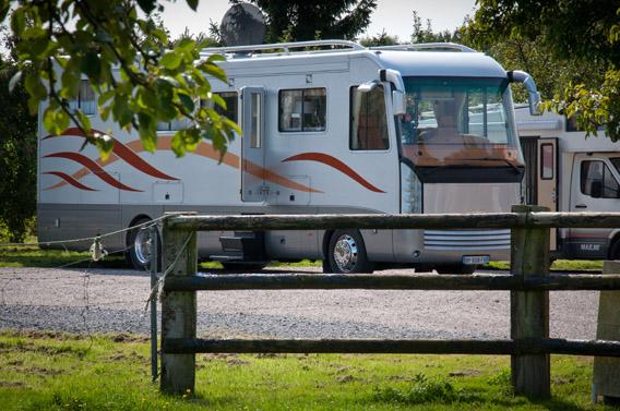 Espace camping-cars Bruyères Carré Moyaux Calvados Normandie
