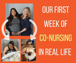 Copy of OUR FIRST WEEK OF CO-NURSING IN REAL LIFE