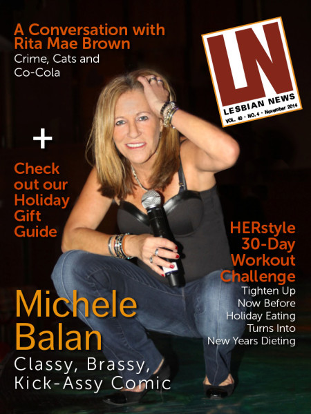 Lesbian News November 2014 Issue