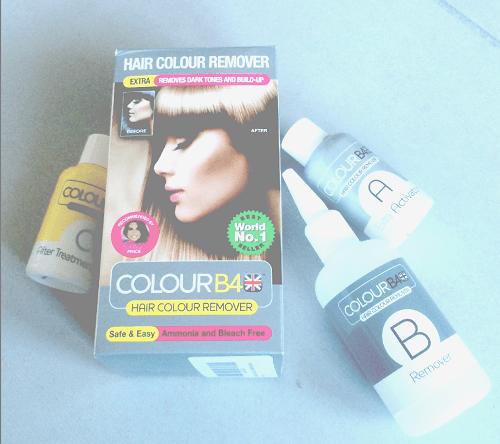J'ai testé la décoloration Colour B4 remover : non agressive et sans décolorant !