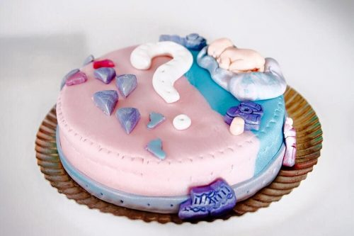 Gateau baby shower