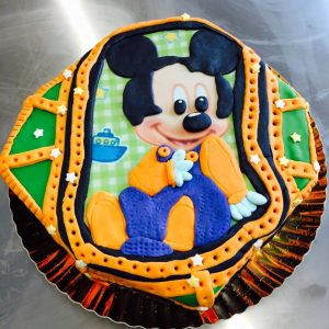 Gateau mickey