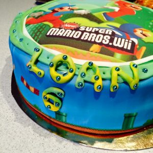 Gateau super mario bros