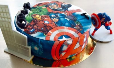 Gateau super heros