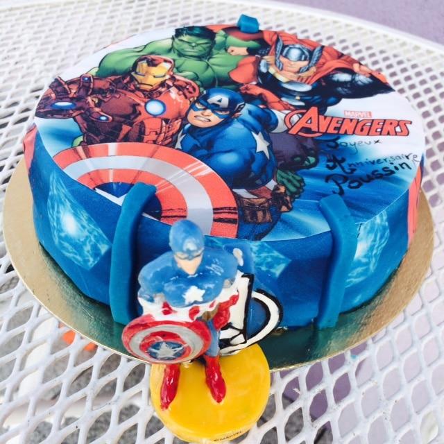gateau super heros - Gateau Super Heros