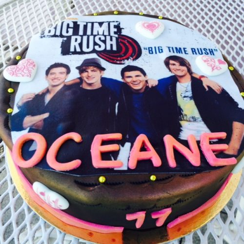 Gâteau Big time rush