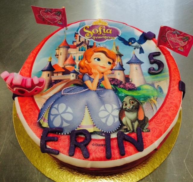 Gateau Princesse Sofia Cake Design Pate A Sucre Les Delices De Mary