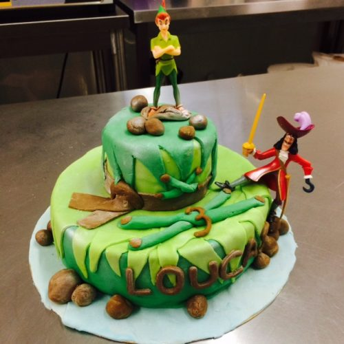 Gateau Peter Pan