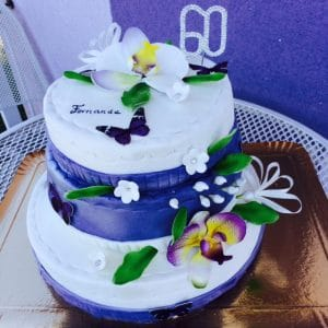 Gateau orchidee