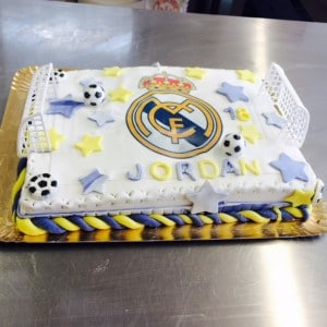 Gâteau Real Madrid
