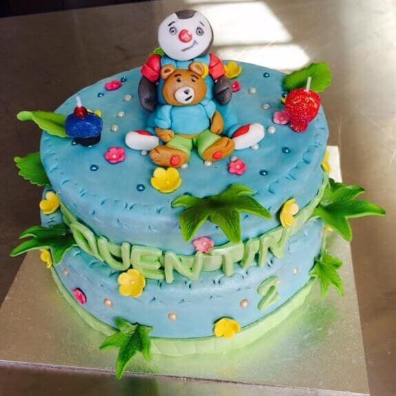 Bien-aimé Gâteau T'choupi - Cake design, Pâte à sucre - Les Délices de Mary EV42