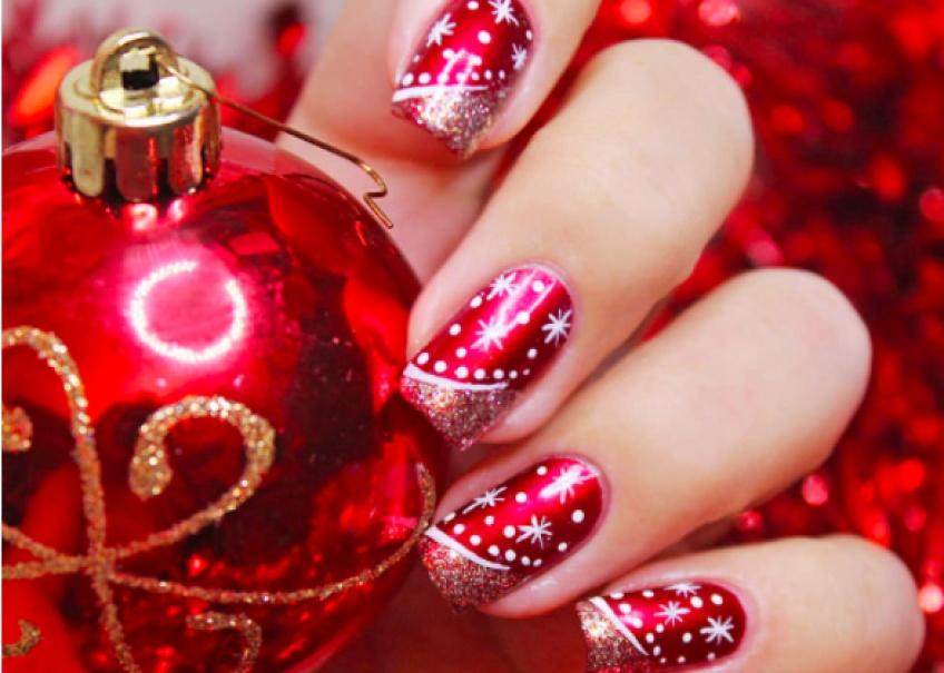 Special Noel 20 Sublimes Nail Art Qui Vont Faire Tomber