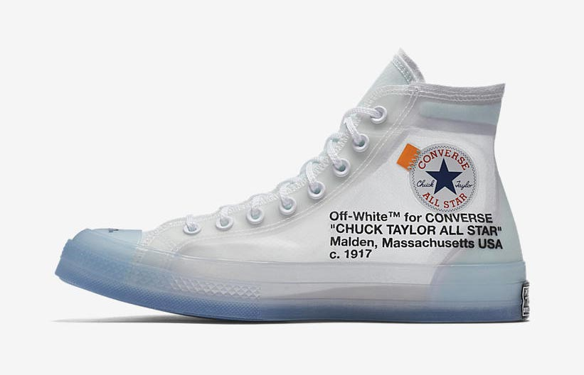 Off White X Converse Chuck Taylor The Ten Le Site De La