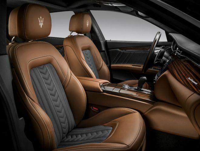 New Quattroporte S Q4 GranLusso_Zegna Edition interior