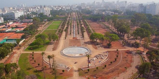 Survol du Parc de la Ligue arabe en vidéo