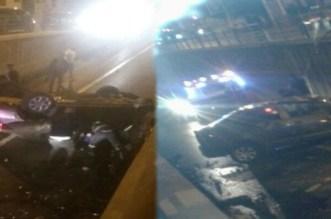 VIDEO – Une voiture chute dans un tunnel à Casablanca