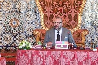 Le bilan du Conseil des ministres présidé par le roi Mohammed VI