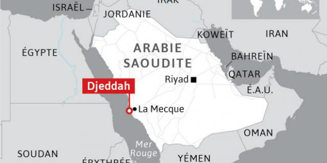 Fusillade devant le palais royal à Djeddah — Arabie saoudite