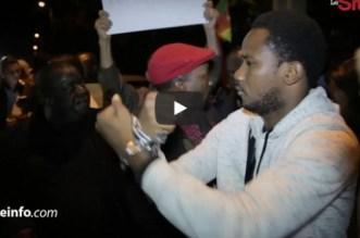 Vive le Maroc, Libye zéro: sit-in devant l'ambassade libyenne à Rabat (VIDEO)