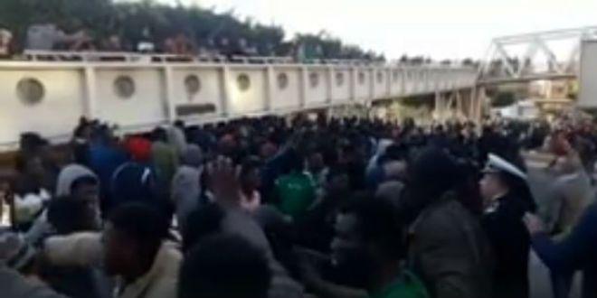Ouled Ziane: nouvelle pagaille entre Subsahariens et Marocains (VIDEO)