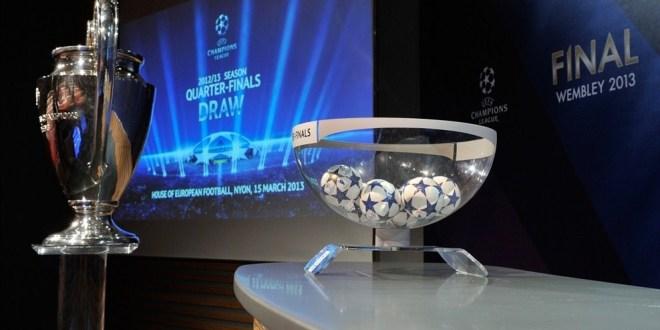Champions League: voici le résultat du tirage au sort