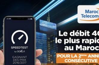 Maroc Telecom consacré «Meilleur réseau mobile au Maroc»