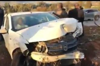 Accident à Salé: un camion percute plusieurs voitures (VIDEO)
