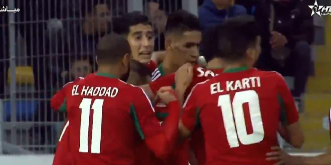 VIDEO – Le premier but du Maroc contre la Guinée (CHAN 2018)