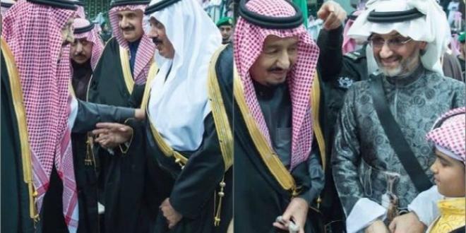 VIDEO- Le roi Salmane retrouve le prince Al Walid Ben Talal