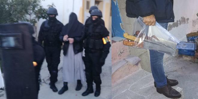 Démantèlement d'une cellule djihadiste à Tanger et Oued Zem — BCIJ