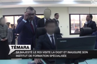 Les images inédites de la visite royale à la DGST (VIDEO)