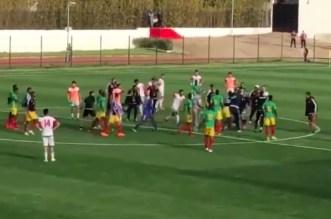Maroc-Mauritanie se termine sur une bagarre générale (VIDEO)