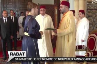 Vidéo: les nouveaux ambassadeurs nommés par le roi