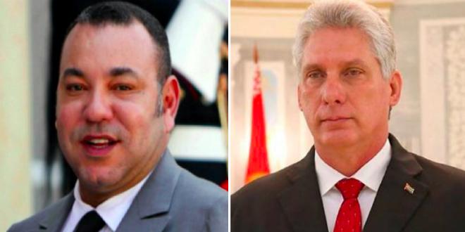Mohammed VI félicite le nouveau président cubain