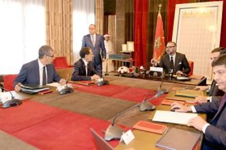 Mohammed VI préside une séance de travail au Palais Royal