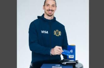 Mondial 2018: Ibrahimović, nouveau visage de «Visa»