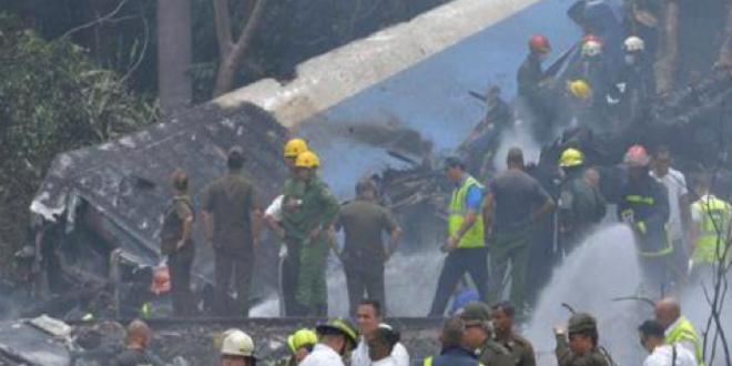 Cuba: des éléments du polisario parmi les victimes du crash