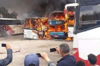 Incendie à la gare routière de Fès: ce qu'il s'est passé (VIDEO)