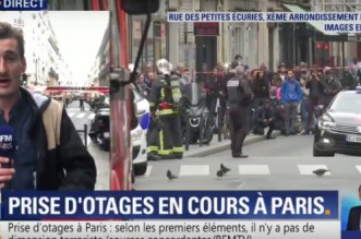Prise d'otages à Paris (VIDEO)