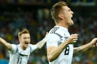 L'Allemagne arrache une précieuse victoire face à la Suède (VIDEO)