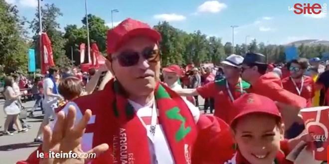 Maroc-Portugal: les supporters plus confiants que jamais (Vidéo)