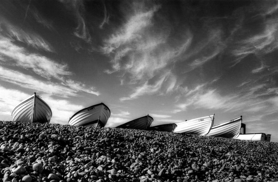 Land  Sea \u003cbr /\u003eBoats - Pett Level Fine Art Photography