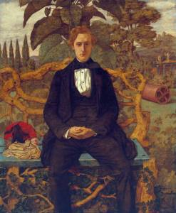 Portrait of a Young Man 1853 Richard Dadd 1817-1886