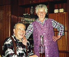 Jan Babey and wife
